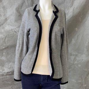 Banana Republic grey sweater blazer size M